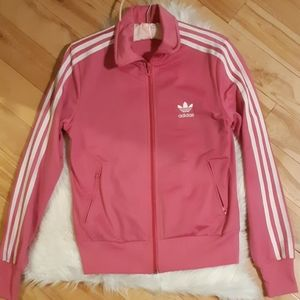 Adidas Women's Pink Track Jacket